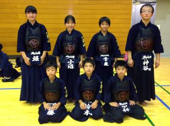 63回五市剣道小学生の部参加者