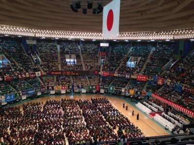 26年度 全日本少年少女剣道錬成大会 開会式