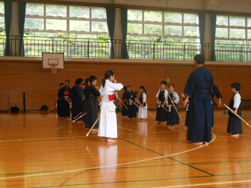 剣道稽古風景