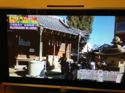 テレビ放映 3