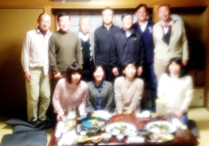 2/22 東葛飾高校稽古・懇親会(お寿司・齊藤にて)