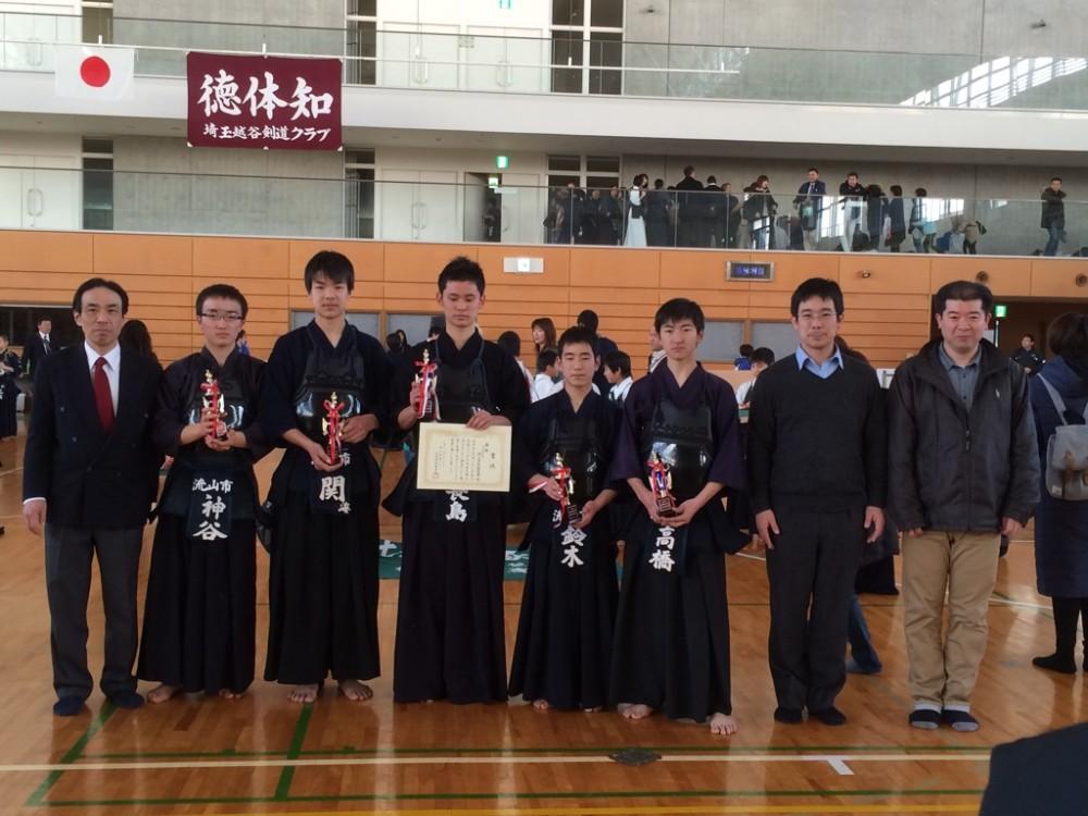 平成28年越谷剣道クラブ少年剣道近隣交流大会 中学生の部
