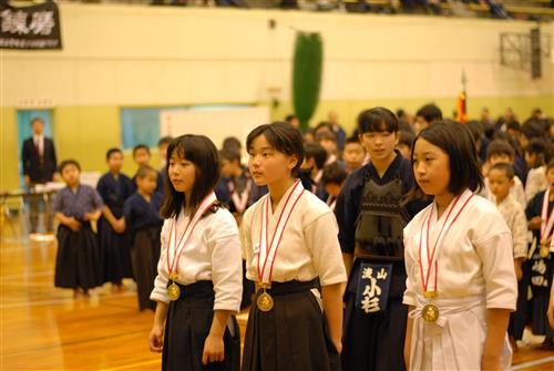 小学校女子団体優勝