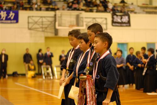 小4男子表彰式