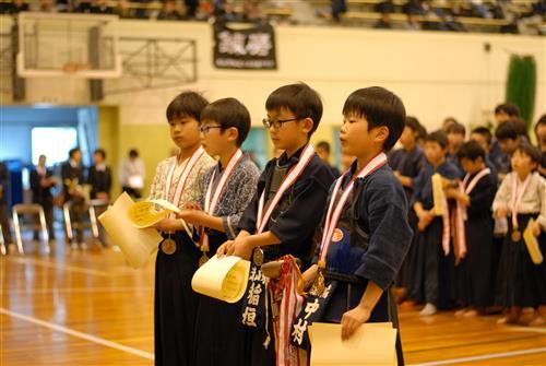 小3男子表彰式