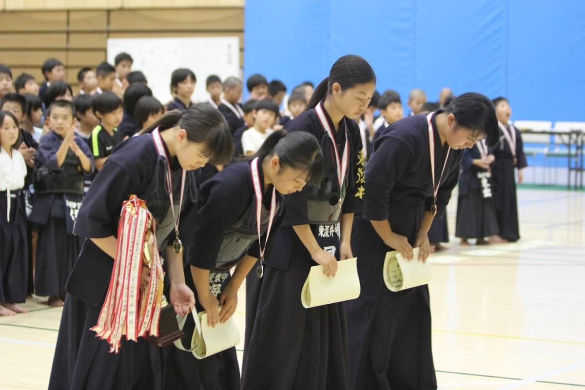中学2,3年女子表彰
