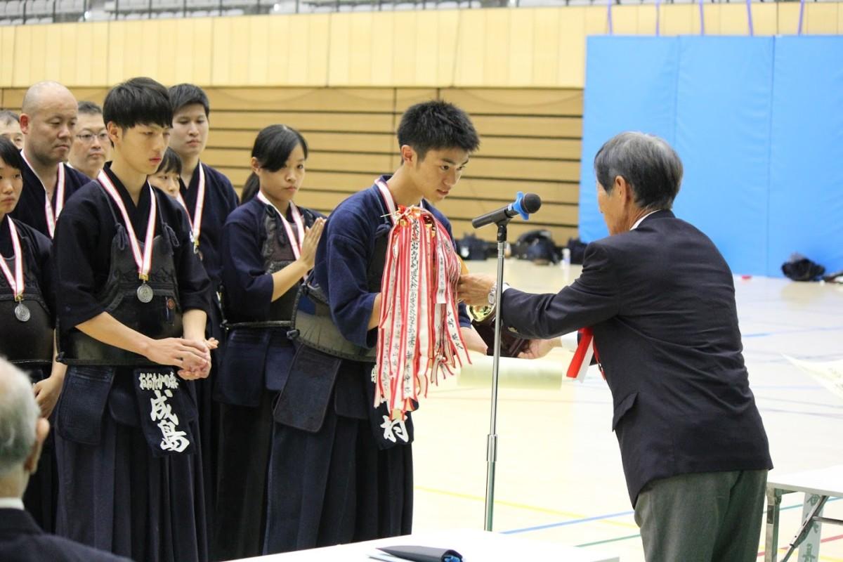 高校男子 表彰