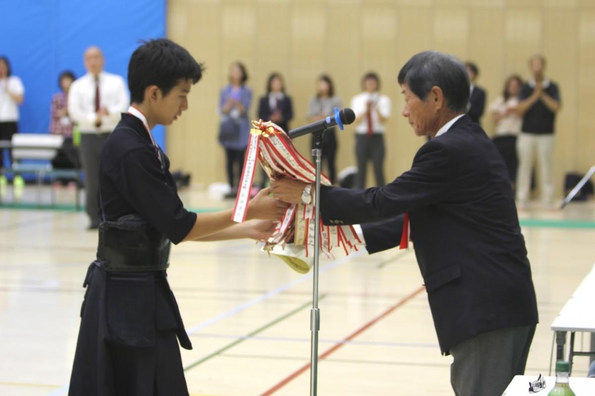 中学一年男子 表彰