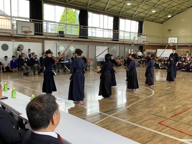 剣道基本技稽古法演武
